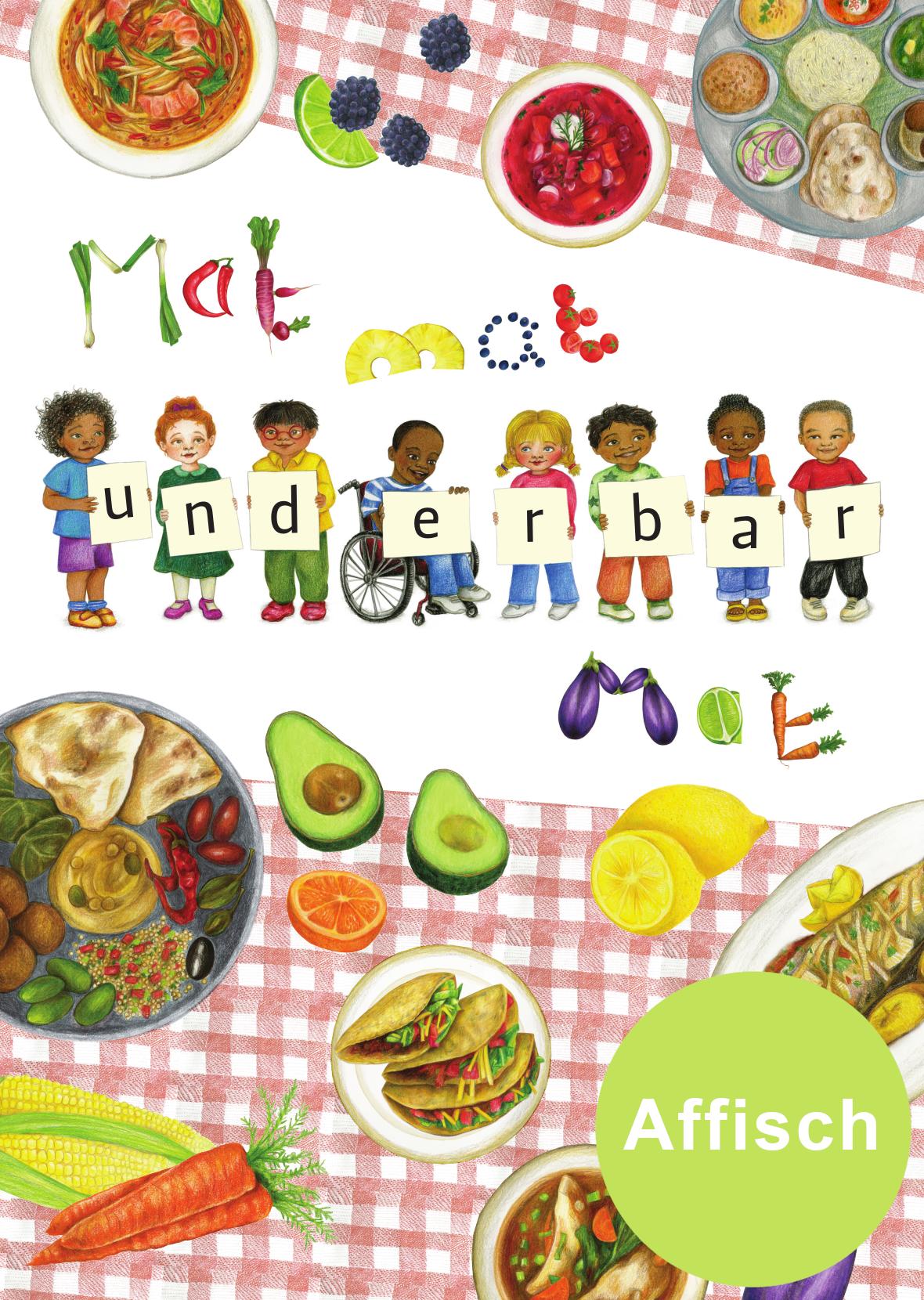 Mat affisch