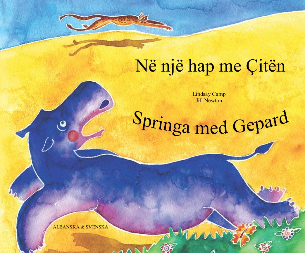 Springa med Gepard svenska och albanska