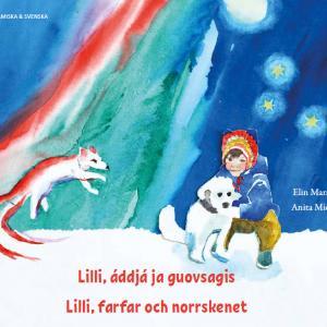 Lilli omslag svenska och lulesamiska