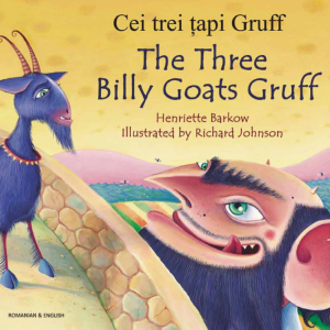 Three Billy Goats Gruff English with Romanian