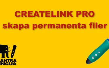 CreateLINK Pro handledning